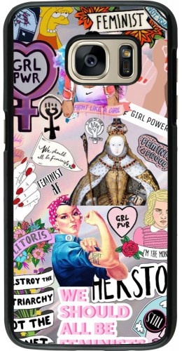 Coque Samsung Galaxy S7 - Girl Power Collage