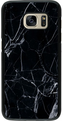 Coque Galaxy S7 -  Marble Black 01
