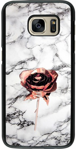 Coque Samsung Galaxy S7 - Marble Rose Gold
