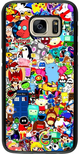 Coque Samsung Galaxy S7 - Mixed cartoons