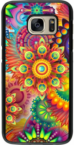 Coque Samsung Galaxy S7 - Multicolor aztec