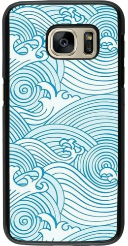 Coque Samsung Galaxy S7 - Ocean Waves