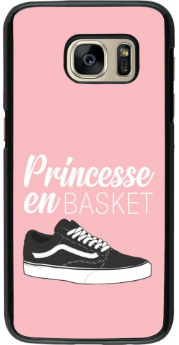 Coque Samsung Galaxy S7 - princesse en basket