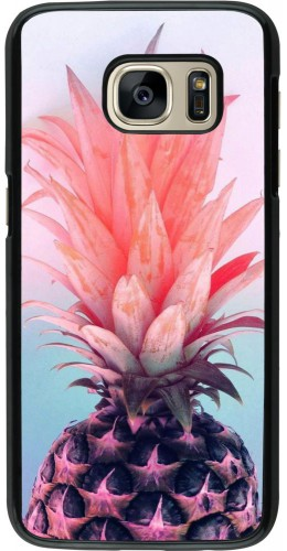 Coque Samsung Galaxy S7 - Purple Pink Pineapple