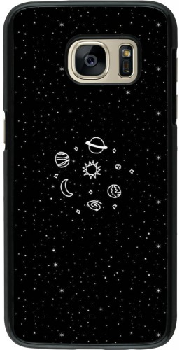 Coque Galaxy S7 - Space Doodle