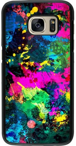Coque Samsung Galaxy S7 - splash paint