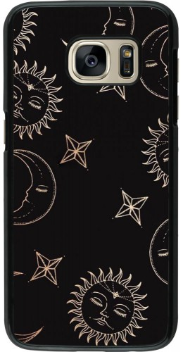Coque Samsung Galaxy S7 - Suns and Moons