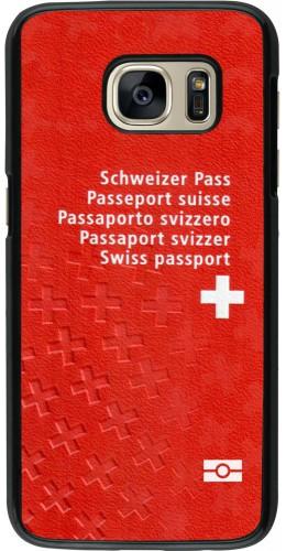Coque Samsung Galaxy S7 -  Swiss Passport