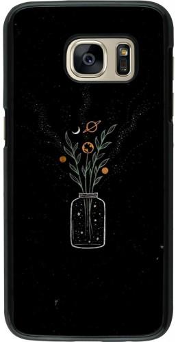 Coque Samsung Galaxy S7 - Vase black