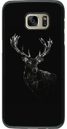 Coque Galaxy S7 edge - Abstract deer