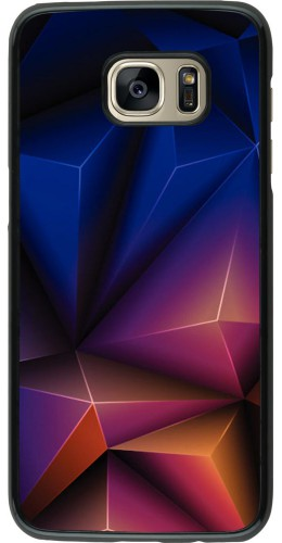 Coque Samsung Galaxy S7 edge - Abstract Triangles