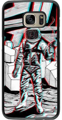Coque Samsung Galaxy S7 edge - Anaglyph Astronaut