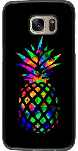 Coque Samsung Galaxy S7 edge - Ananas Multi-colors