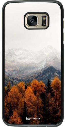 Coque Samsung Galaxy S7 edge - Autumn 21 Forest Mountain