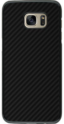 Coque Samsung Galaxy S7 edge - Carbon Basic