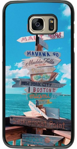 Coque Samsung Galaxy S7 edge - Cool Cities Directions