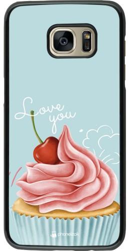 Coque Samsung Galaxy S7 edge - Cupcake Love You