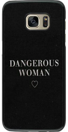 Coque Samsung Galaxy S7 edge - Dangerous woman
