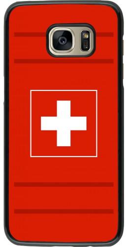 Coque Samsung Galaxy S7 edge - Euro 2020 Switzerland