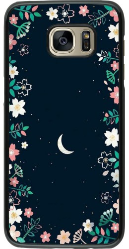 Coque Samsung Galaxy S7 edge - Flowers space
