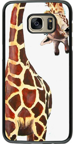 Coque Samsung Galaxy S7 edge - Giraffe Fit