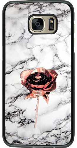 Coque Samsung Galaxy S7 edge - Marble Rose Gold