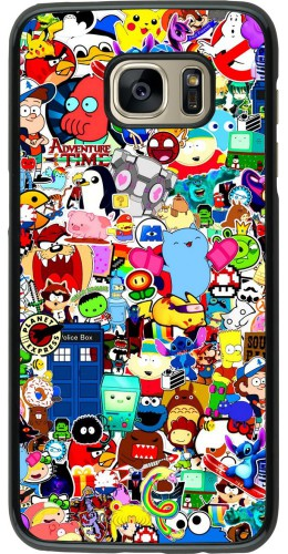 Coque Samsung Galaxy S7 edge - Mixed cartoons