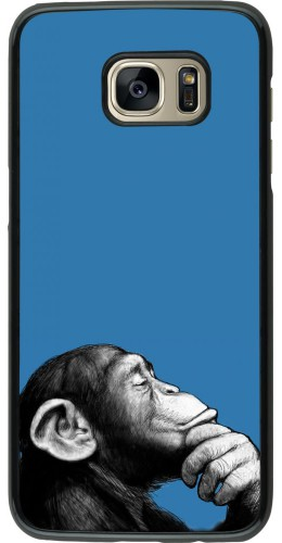 Coque Samsung Galaxy S7 edge - Monkey Pop Art