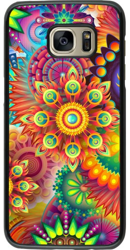 Coque Samsung Galaxy S7 edge - Multicolor aztec