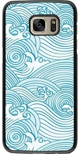 Coque Samsung Galaxy S7 edge - Ocean Waves
