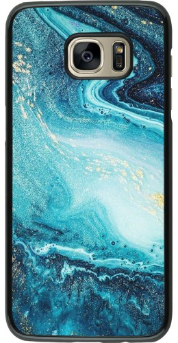 Coque Samsung Galaxy S7 edge - Sea Foam Blue