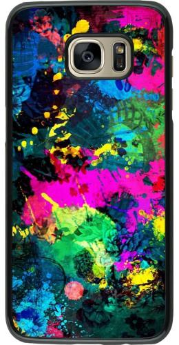 Coque Samsung Galaxy S7 edge - splash paint