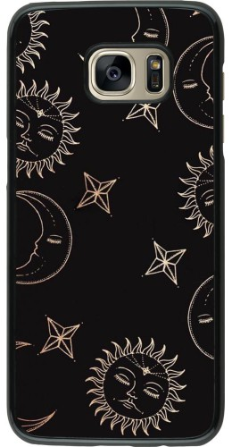 Coque Samsung Galaxy S7 edge - Suns and Moons