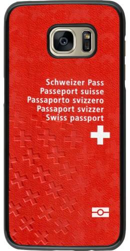 Coque Samsung Galaxy S7 edge -  Swiss Passport
