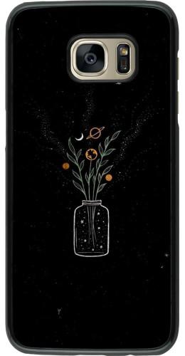 Coque Samsung Galaxy S7 edge - Vase black
