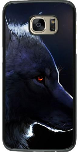 Coque Samsung Galaxy S7 edge -  Wolf Shape