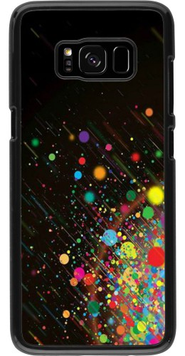 Coque Samsung Galaxy S8 - Abstract bubule lines