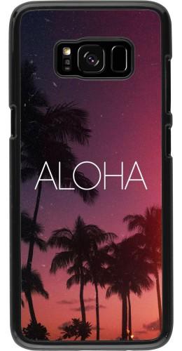 Coque Samsung Galaxy S8 - Aloha Sunset Palms