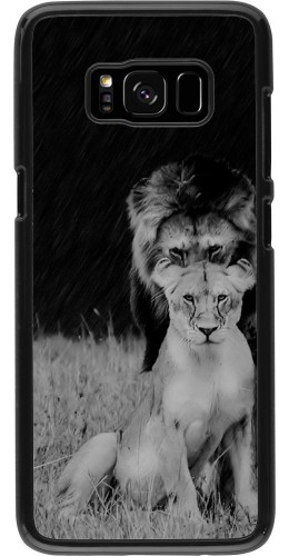 Coque Galaxy S8 - Angry lions
