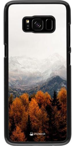Coque Samsung Galaxy S8 - Autumn 21 Forest Mountain