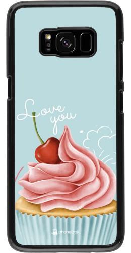 Coque Samsung Galaxy S8 - Cupcake Love You
