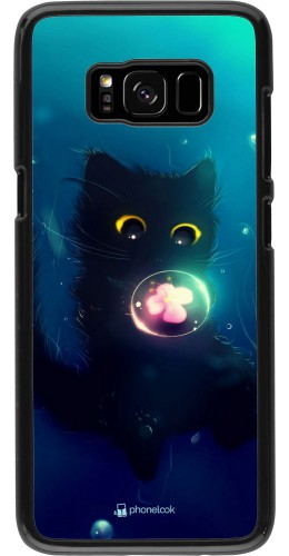 Coque Samsung Galaxy S8 - Cute Cat Bubble
