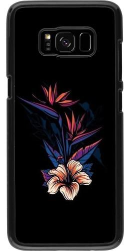 Coque Samsung Galaxy S8 - Dark Flowers