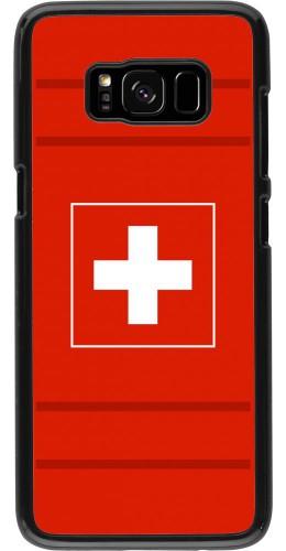 Coque Samsung Galaxy S8 - Euro 2020 Switzerland