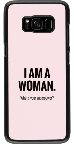 Coque Samsung Galaxy S8 - I am a woman