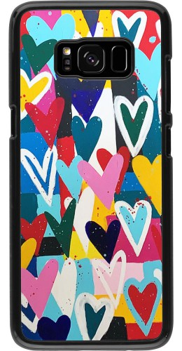 Coque Samsung Galaxy S8 - Joyful Hearts