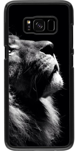 Coque Galaxy S8 - Lion looking up