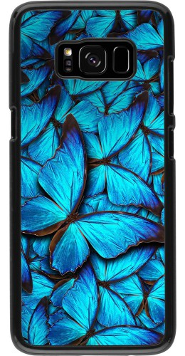 Coque Samsung Galaxy S8 - Papillon bleu
