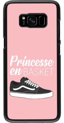 Coque Samsung Galaxy S8 - princesse en basket