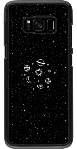 Coque Galaxy S8 - Space Doodle
